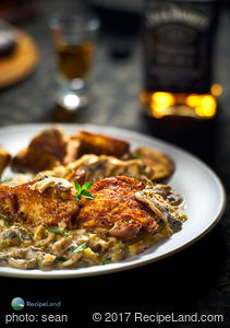 British Whiskey Chicken