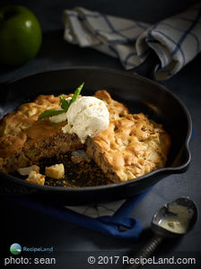 Norwegian Apple Pie for Two