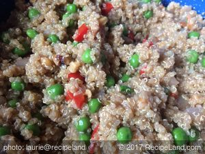 Walnut Rosemary Quinoa
