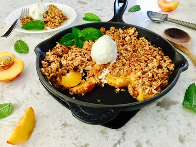Apple/Peach/Pear Crisp II(Low-Cal)