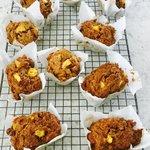 Sugar Free Peach Oat Bran Muffins