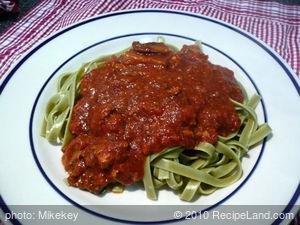 Easy Crock-Pot Spaghetti Sauce