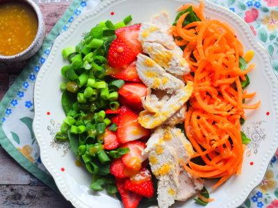 Chicken & Strawberry Salad