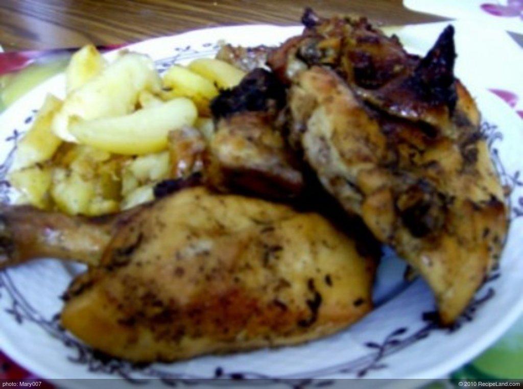 Chicken a la goose