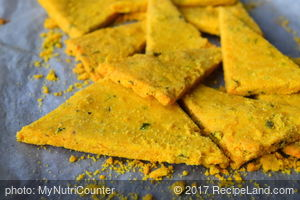 Healthy Nachos With Chickpea Flour