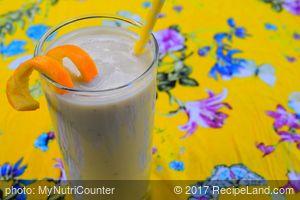 Banana Soya Milk Smoothie