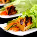 This vegetarian wrap recipe is big on taste with it's beautiful blend of spices that perfectly complement the tofu and vegetables. It's really simple to make and so satisfying that it will keep your hunger wrapped up.