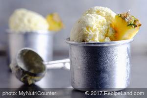 Coconut & Pineapple Sorbet
