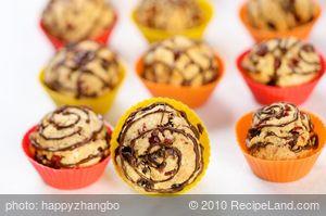Almond Cherry Cookies