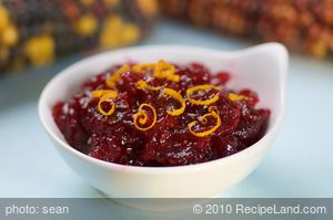 Cooked Cranberry-Orange Relish