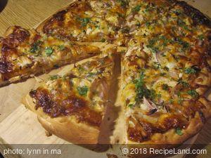 California Pizza Kitchen BBQ Chicken Pizza Copycat