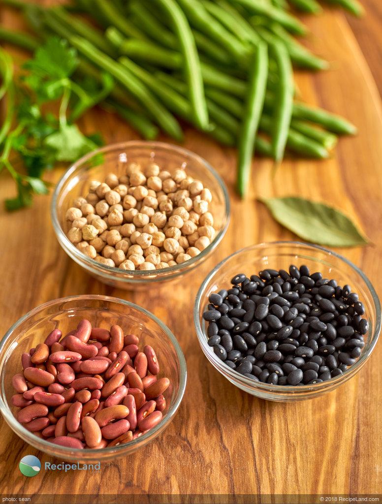 Delicious Four Bean Salad (Instant Pot)