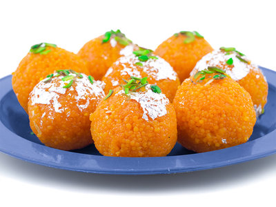 Indian Sweets Recipe –Motichoor Laddoo