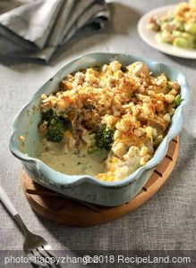 Favorite Turkey Broccoli Casserole