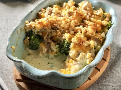 Favorite Turkey Broccoli Casserole