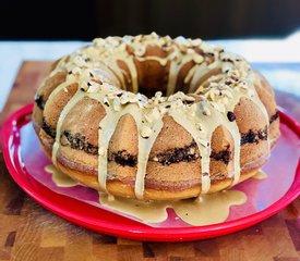 Almond Streusel Bundt Cake and Coffee Glaze