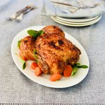 Amazing Roast Chicken with Honey Glaze recipe