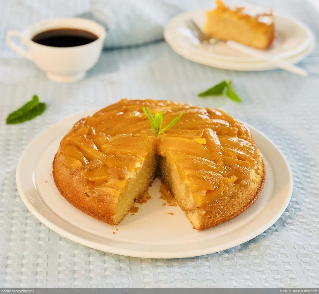Easy Mango Upside Down Cake