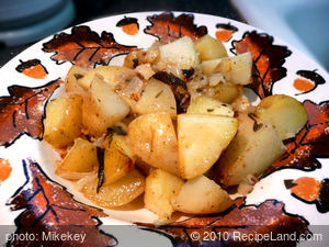 Sage Roasted Potatoes