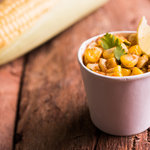 Sweet or masala, everyone loves corn! This corn chaat recipe is simple and easy to make on a rainy day or as a snack for those late night hunger pangs.