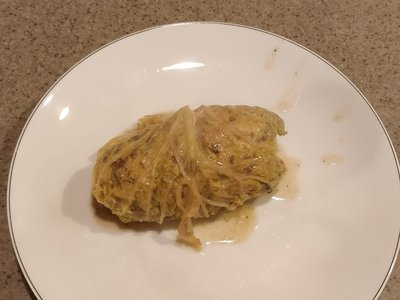 German Cabbage Rolls (Kohlrouladen) - traditional