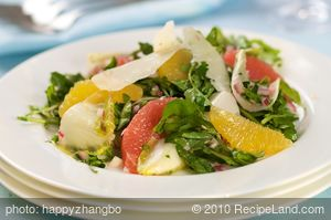 Citrus Salad with Watercress and Shaved Parmesan