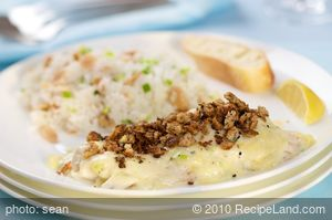 Red Snapper in Creamy Bechamel Sauce