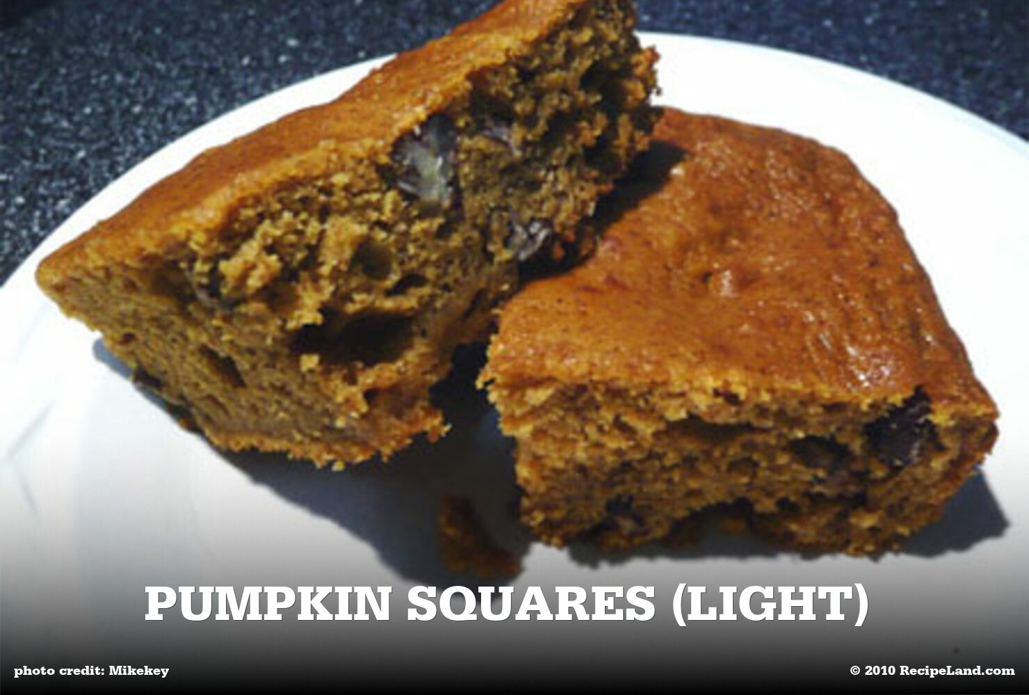 Pumpkin Squares (Light)