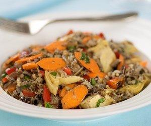 Wild Rice and Artichoke Salad