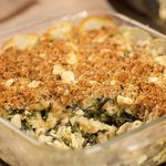 Cheesy Macaroni and Cheese with Spinach and Feta