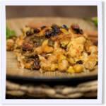 Chana aur Sarson ka Saag Biryani (Basmati Rice & Curry Casserole)