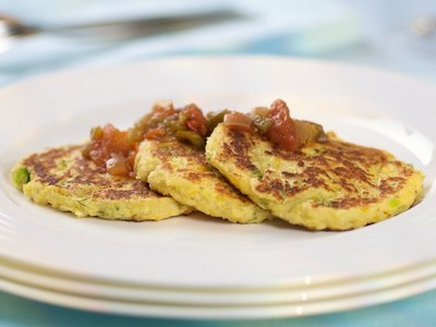 Corn and Parsnip Cakes