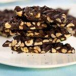 Chocolate Hazelnut and Cherry Bark