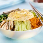 Korean Soba Noodles with Vegetables