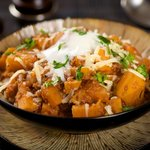 Butternut Squash and Yam Casserole
