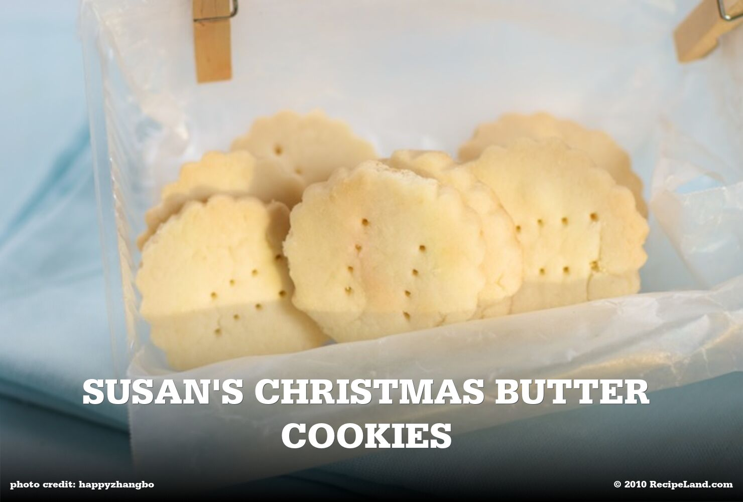 Susan's Christmas Butter Cookies
