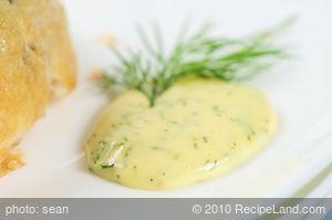 Dill Hollandaise Sauce