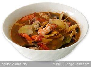 Tom Yum Gong Soup