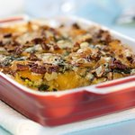 Butternut Squash and Cheddar Casserole