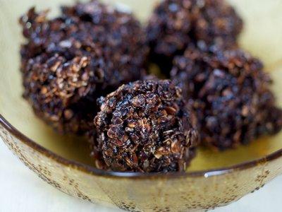 No-Bake Coconut/Oatmeal Cookies