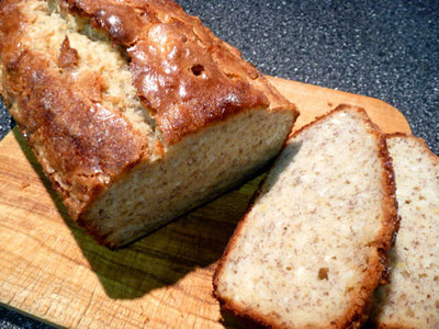 Fresh Hawaiian Ginger Banana Bread