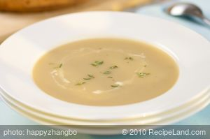 Chestnut Apple Soup
