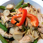 Sesame Chicken Stir-Fry with Vegetables