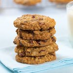 Chocolate Chunk Cranberry and Walnut Cookies