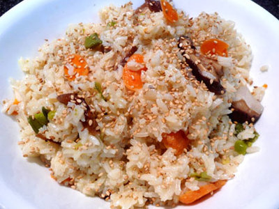Vegetable Pilaf