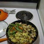 Chicken Pad Thai ;-P Yum! Yum!