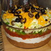 Seven Layer Taco Dip - Superbowl