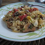 Mediterranean Pasta Salad With Feta Vinaigrette