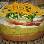 Avocado Multi-Layer Party Dip