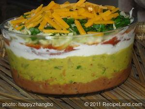 Avocado Multi-Layer Party Dip